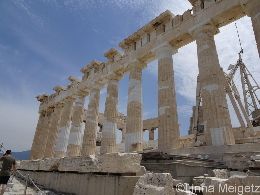 アテネといえばこれ、パルテノン神殿
