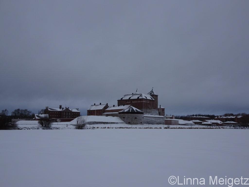 フィンランドの数少ない中世のお城が一つハメ城