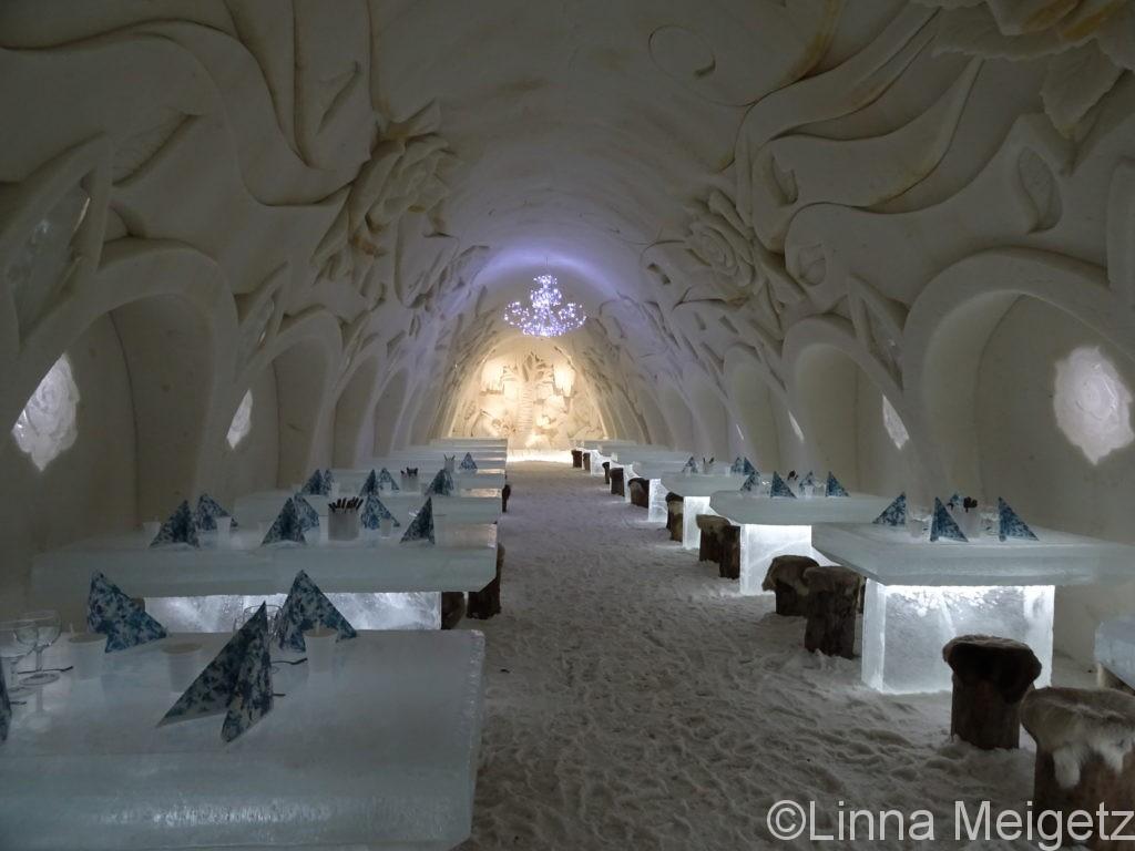 ケミの雪の城ルミリンナ
