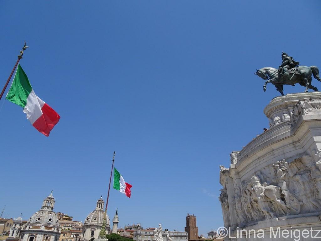 ローマのヴィットーリオ・エマヌエーレ2世記念堂