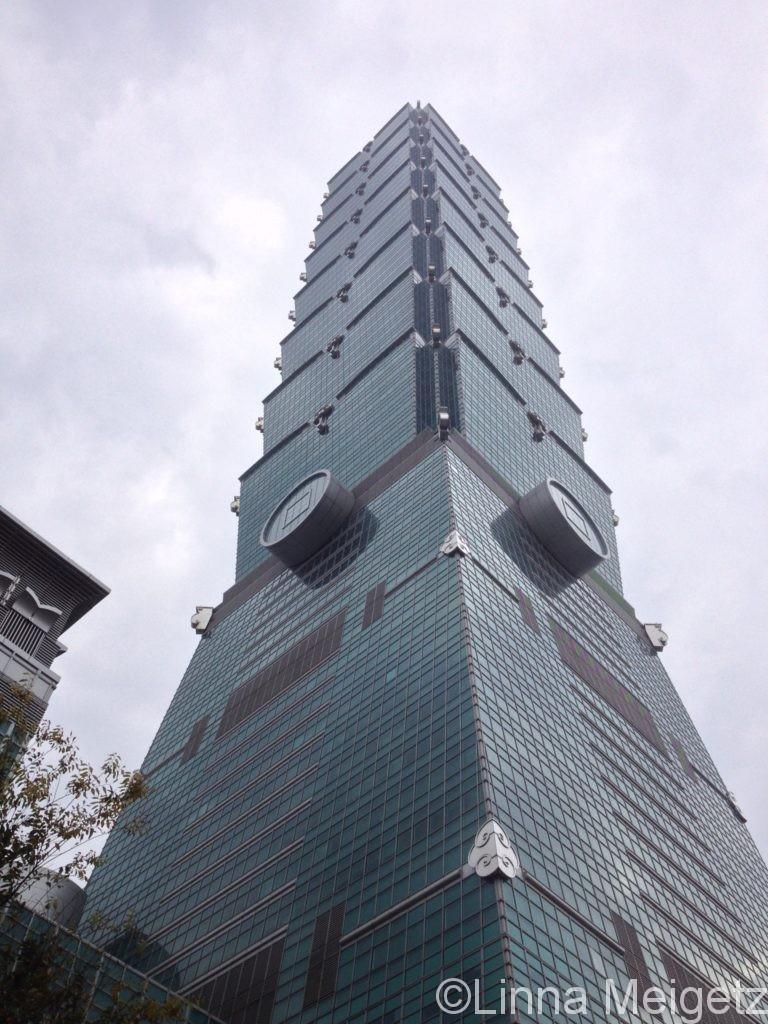 台北のランドマーク、台北101
