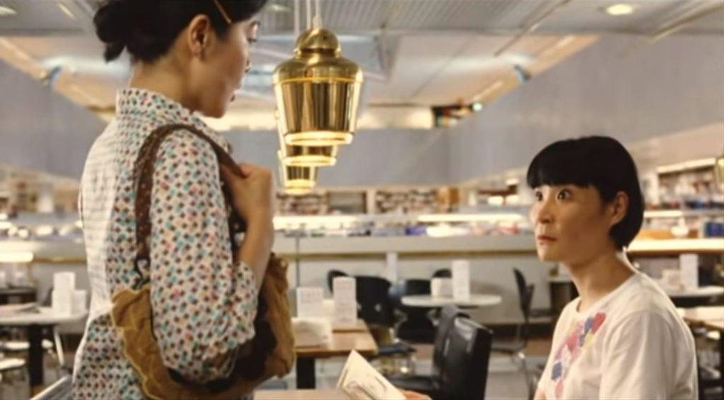 『かもめ食堂』のサチエとミドリがCafe Aaltoで出会ったシーン