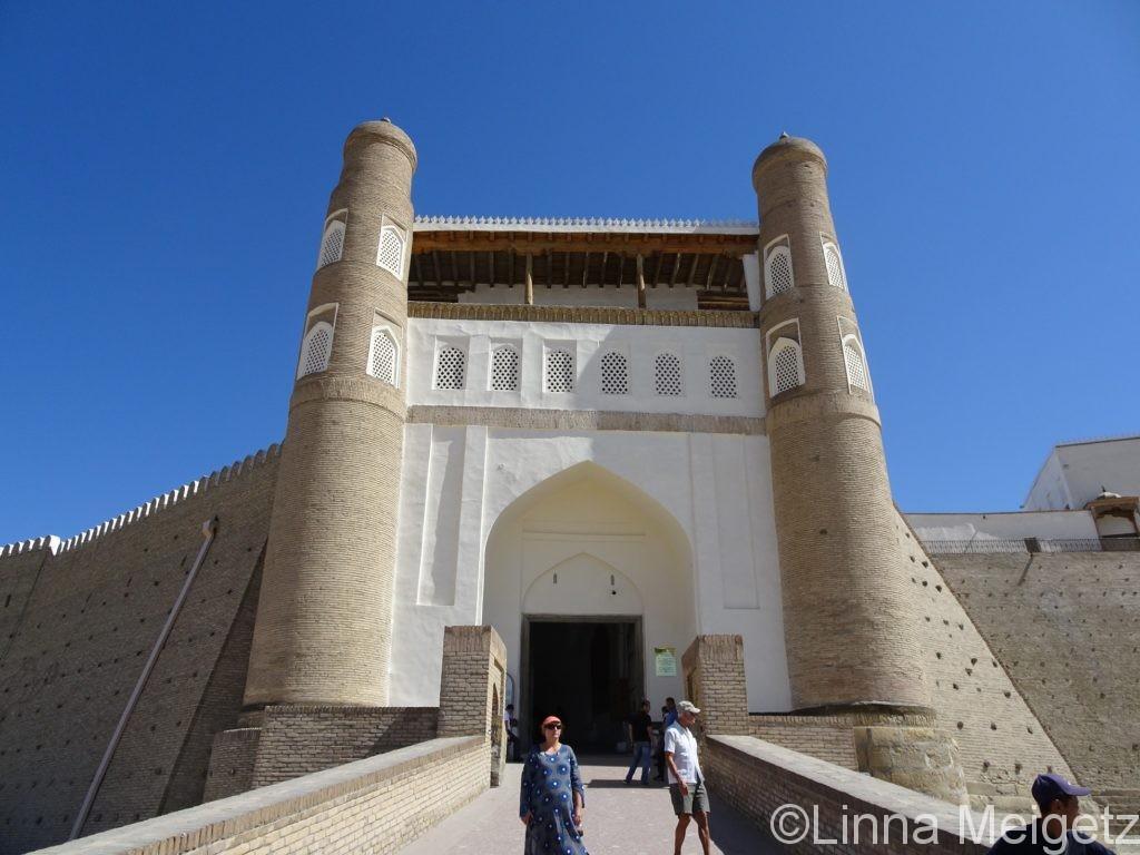アルク城の入り口