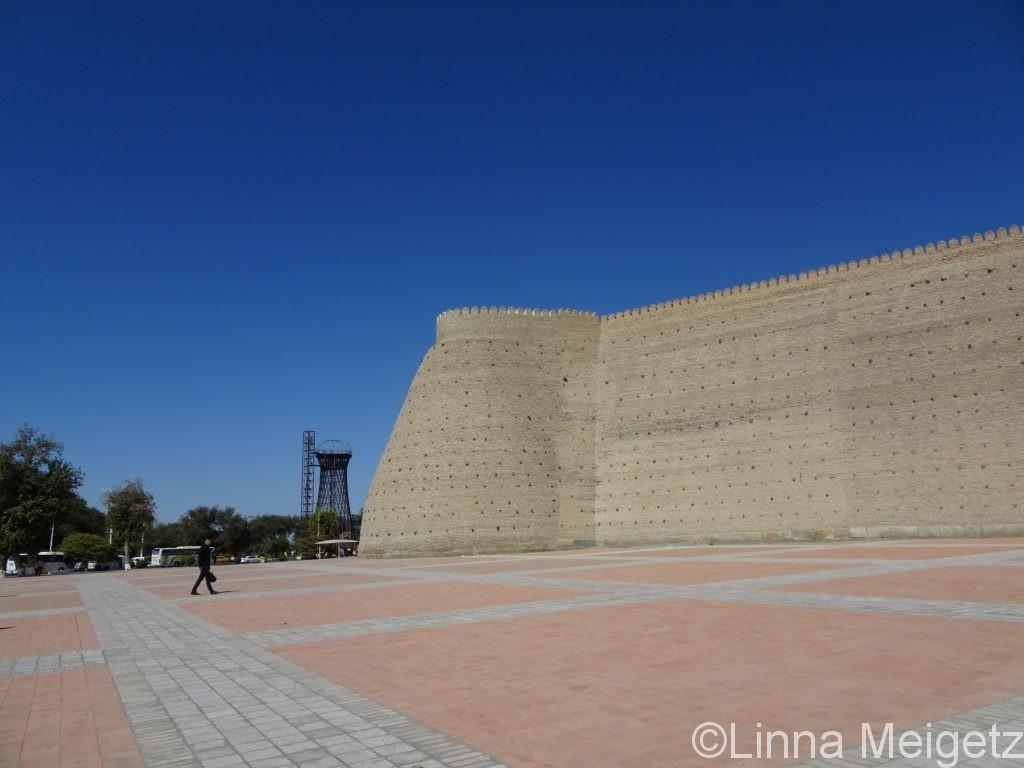 アルク城の城壁