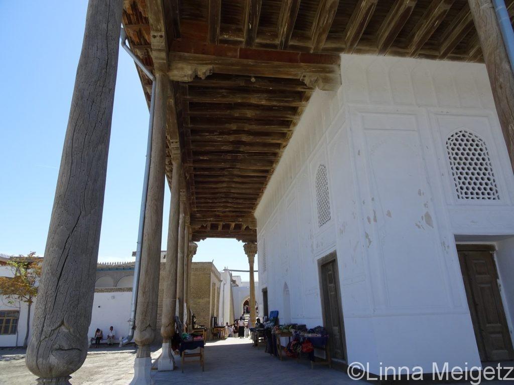 アルク城内にあるモスク