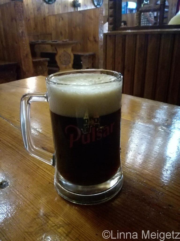 Pulsarの黒ビール