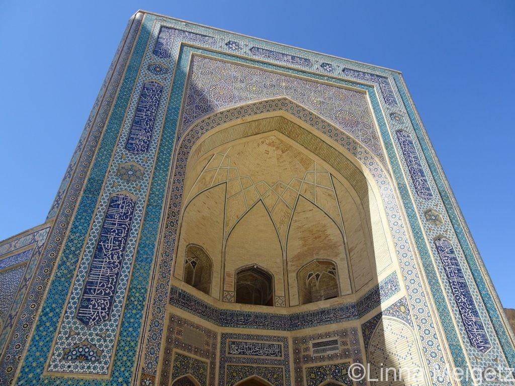 カラン・モスクのファサード