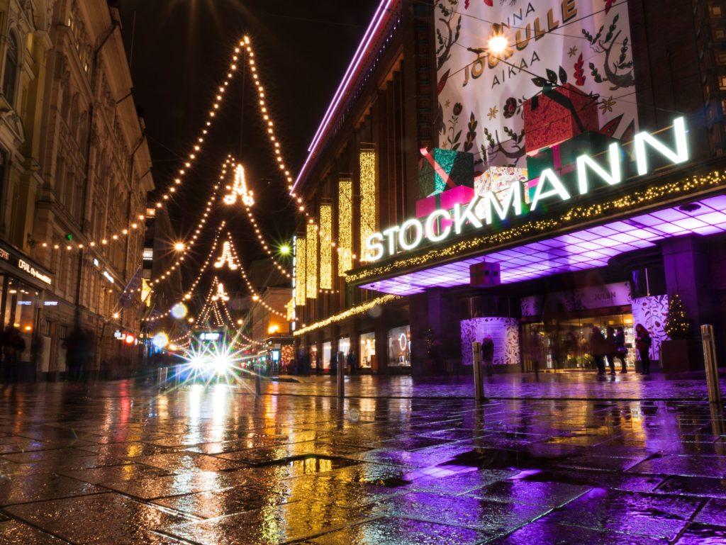 Stockmannデパートの北側入り口