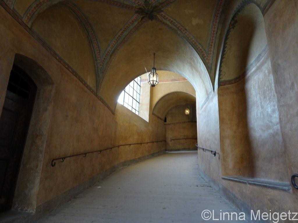 チェスキー・クルムロフ城の中(廊下?)