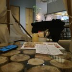 Cosugi Lodgeのテントの中から撮った写真