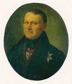 キリル(エーリク)・ラクスマンの肖像画
