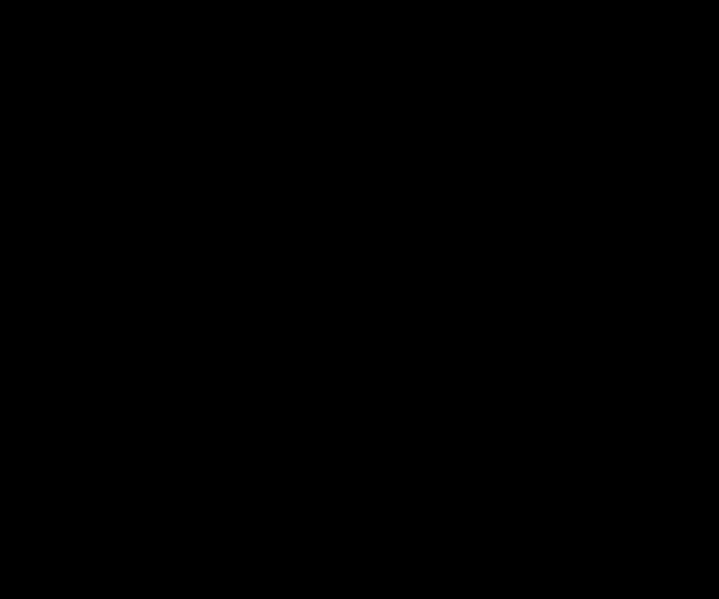 ドラゴン(lohikäärme)のシルエット画像
