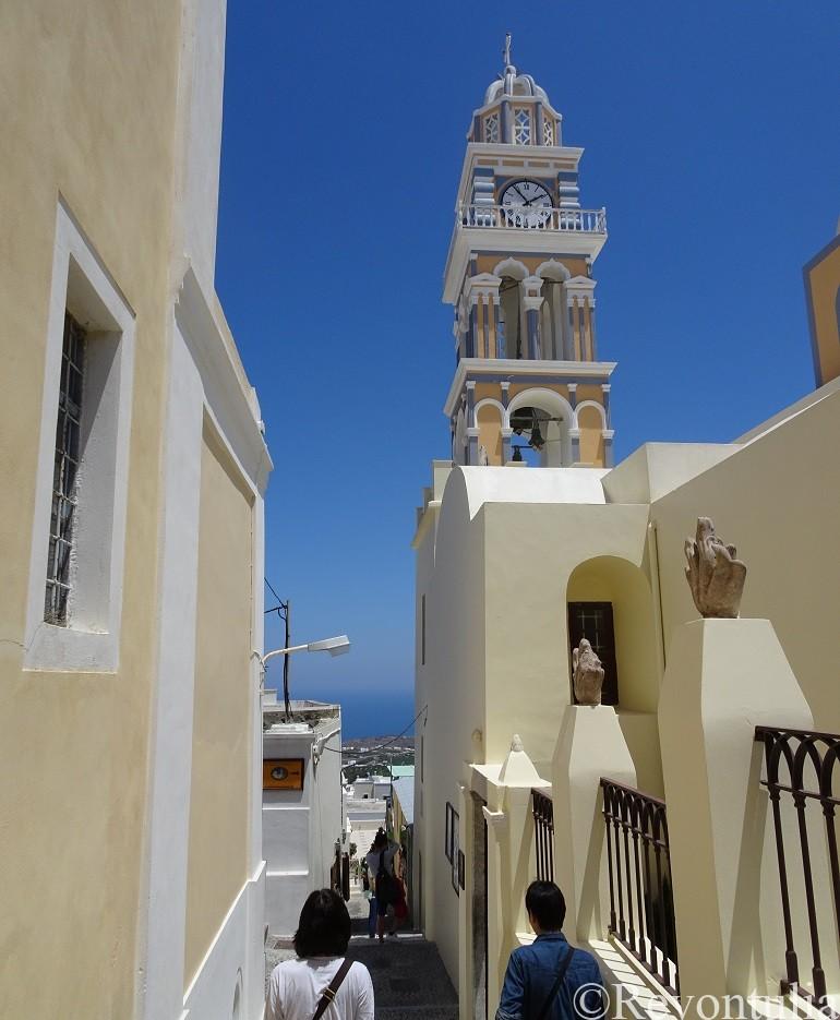 サントリーニ島の聖洗礼者ヨハネ教会