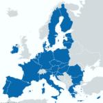 EUに加盟している国の地図