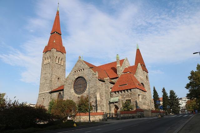 タンペレ大聖堂の写真