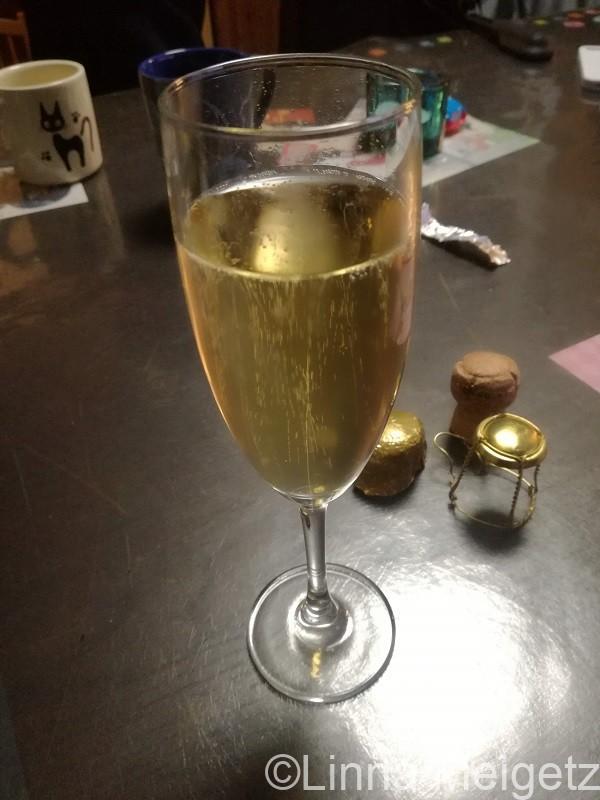 シャンパングラスに注いだÉlysée No.1