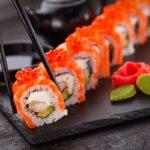 お寿司(カリフォルニアロール)の写真