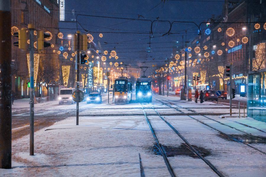 ヘルシンキの目抜き通り、マンネルヘイム通り