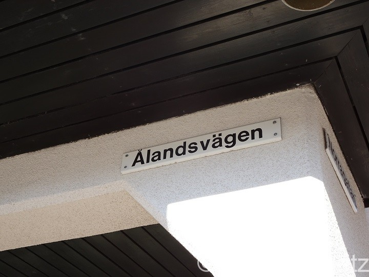 「オーランド通り」と書かれた道路の表示