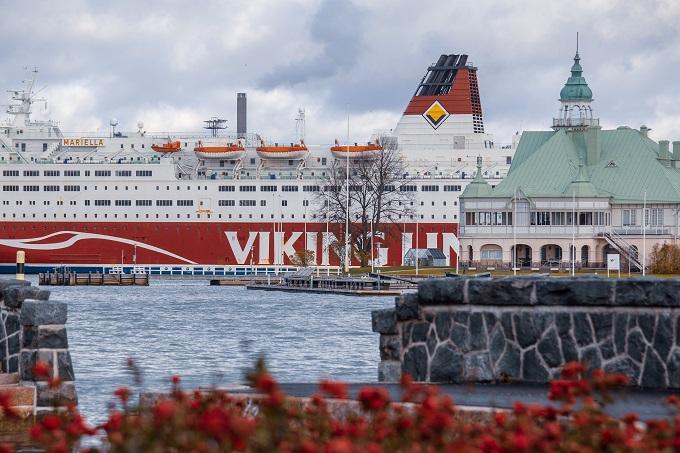 Viking Lineの船の写真