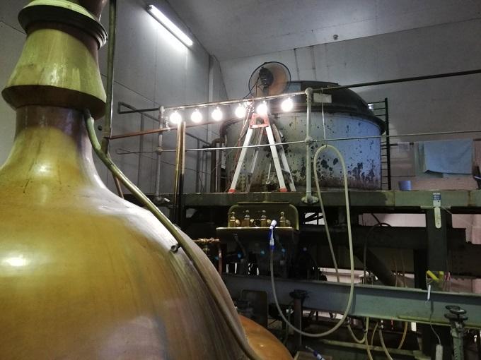 ベアレン醸造所の仕込み室