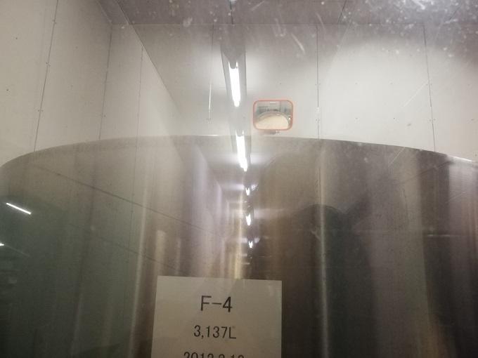 ベアレン醸造所の発酵室