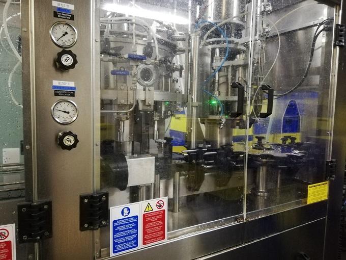 ベアレン醸造所のボトル詰めをする機会