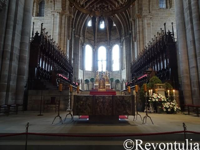 バンベルク大聖堂の祭壇