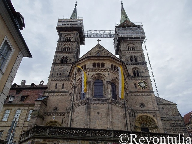 バンベルク大聖堂の外観