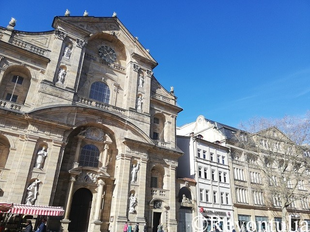 St. Martin教会のファサード