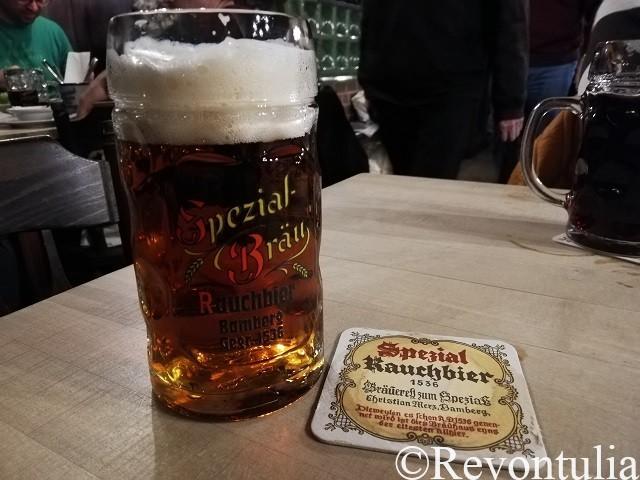 Brauerei Spezialのラガー・ラオホビール