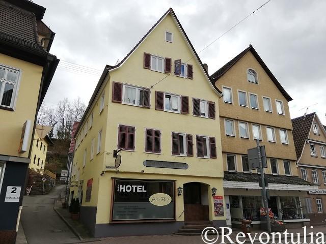 カルフのホテル・Alte Postの外観