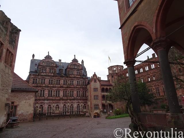 ハイデルベルク城の中
