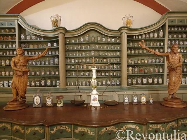 ドイツ薬事博物館の中