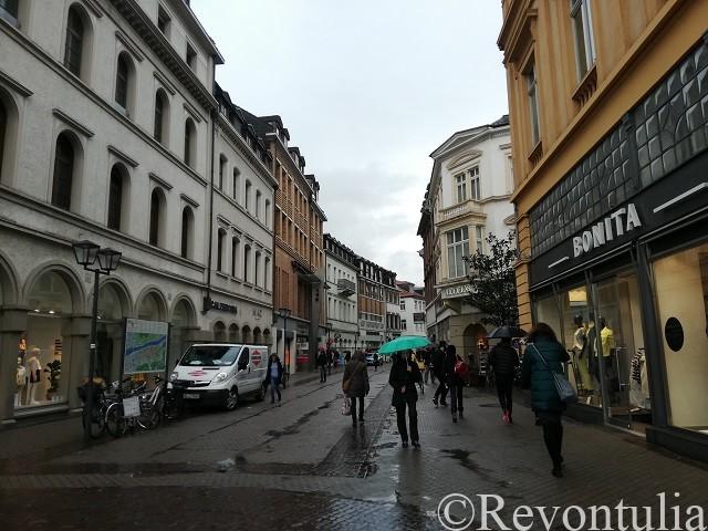 ハイデルベルクのとある通り