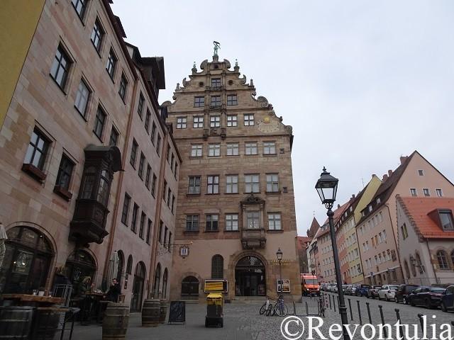 フェンボハウス市立博物館の外観