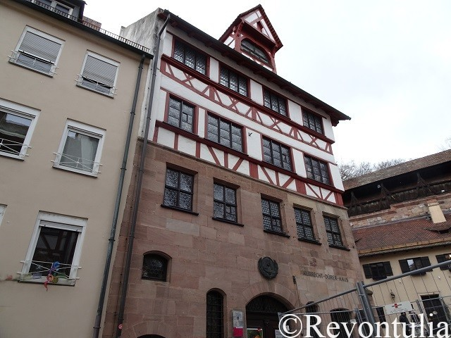アルブレヒト・デューラーハウスの外観