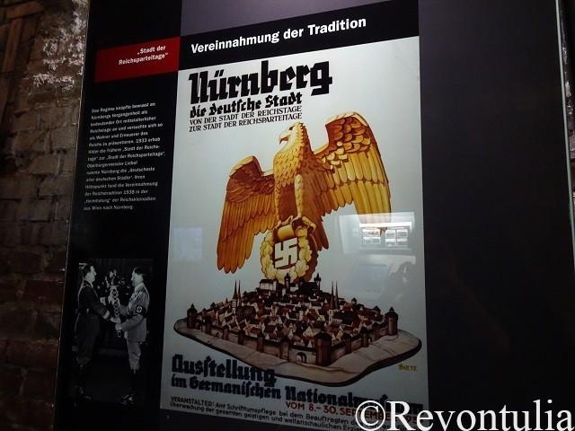 ナチスのニュルンベルクのポスター