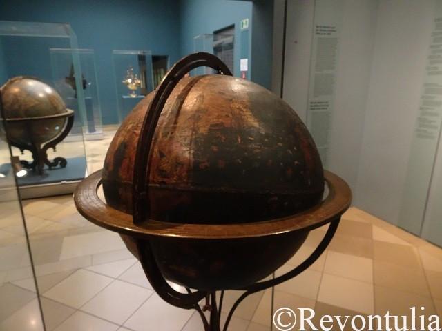現存する最古の地球儀、ベハイムの地球儀