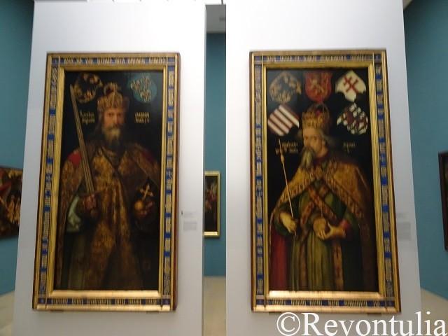 デューラーの二枚の絵