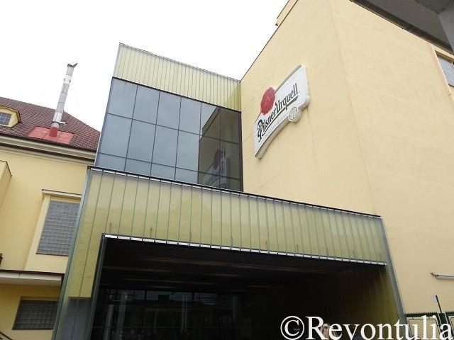 プルゼンスキー・プラズドロイ醸造所の建物(近く)