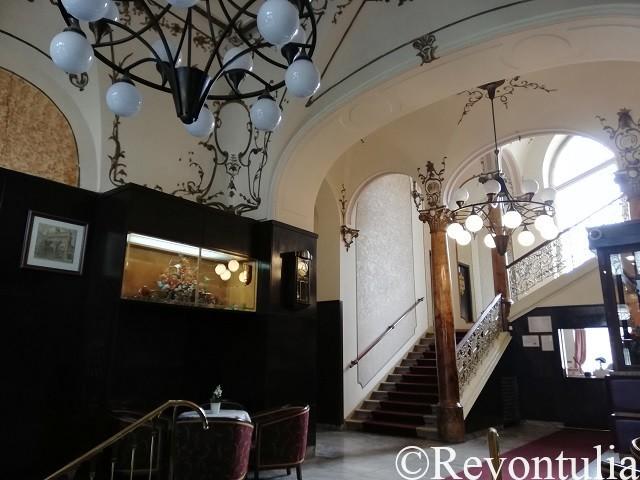 Hotel Slovan Plzeňのロビー