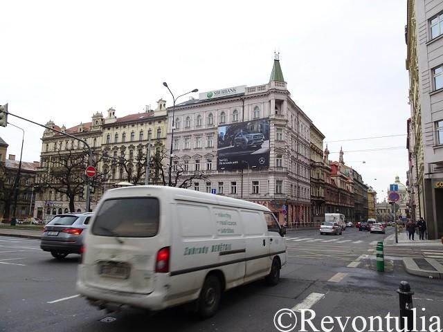 プラハのとある通り