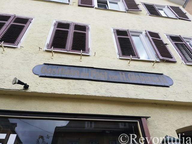Alte Postの看板