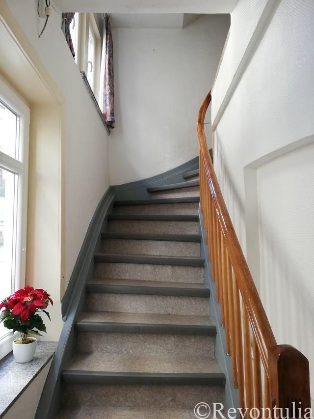 カルフのホテル・Alte Postの階段
