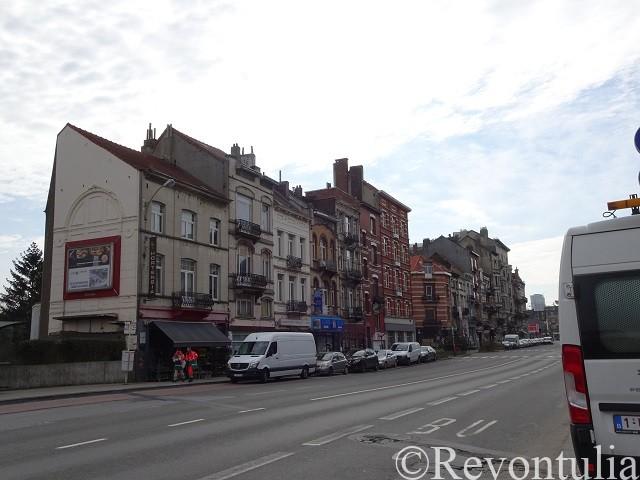 ラーケン地区の通りの写真