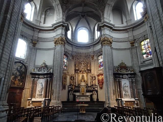 ブリュッセルのノートルダム・ド・ボン・スクール教会