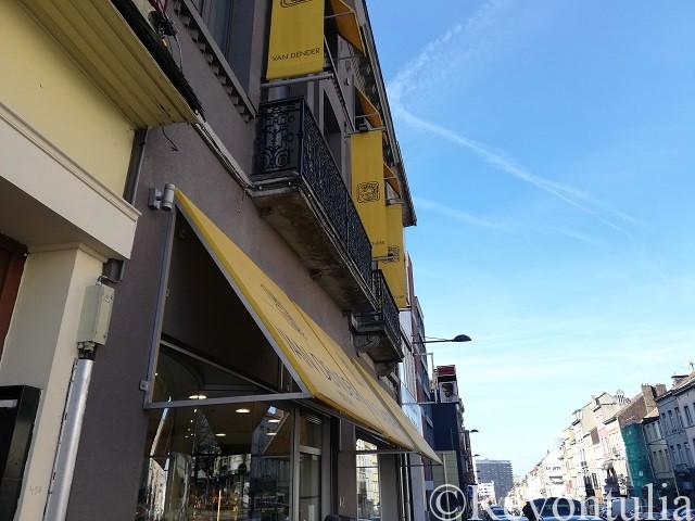 ブリュッセルのVan Denderの店舗