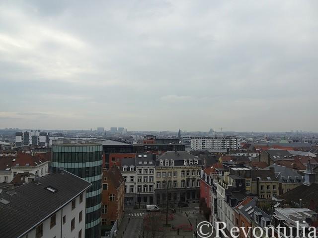 ブリュッセルの眺望
