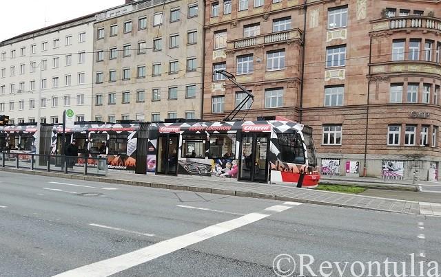 ニュルンベルクのトラム